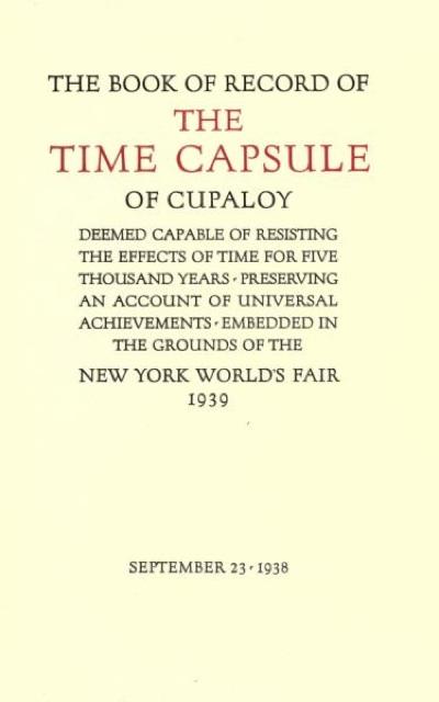 Timecapsule Book-1