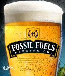 Fossil Fuels Brewing Company Wheat Beer