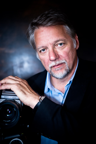 Photographer Edward Burtynsky