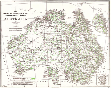 Indigenous map 1940