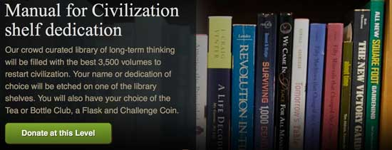 Manual for Civilization Shelf level