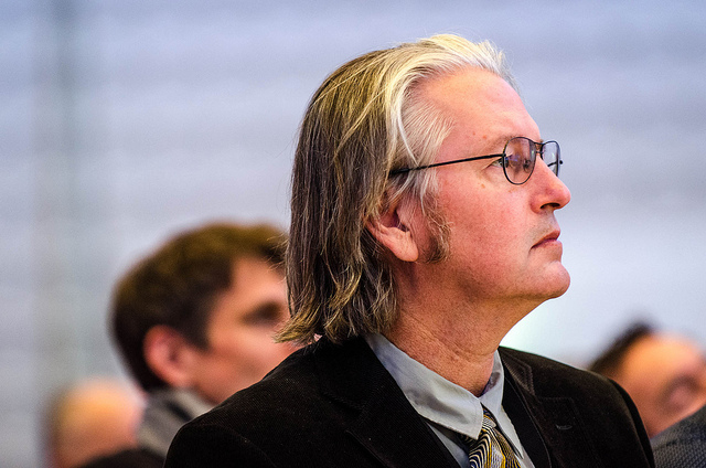 Bruce Sterling (Photo by Heisenberg Media)
