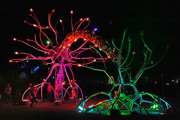 Soma at Burning Man photo by Scott Hess