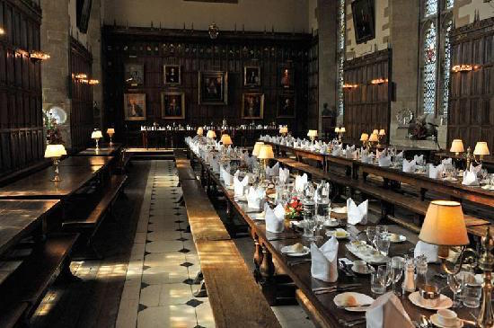New College Oxford Dining Hall