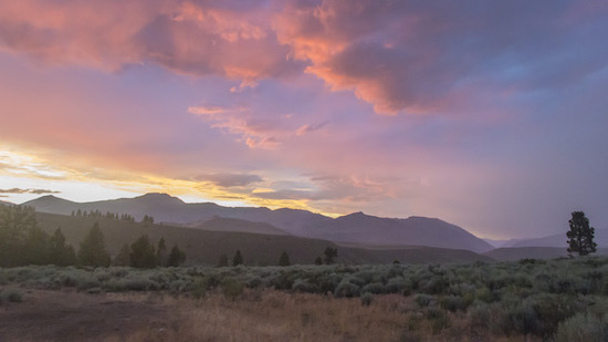 Great Basin red sky - Scotty Strachan