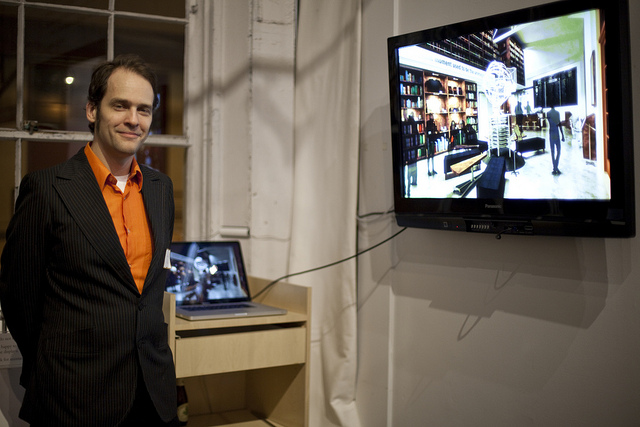 Jeffrey McGrew at The Interval: Talking with Robots about Architecture