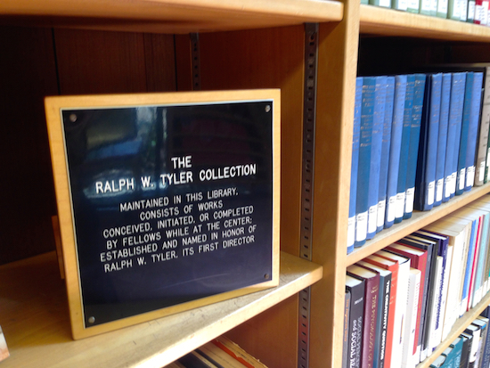 The Ralph W. Tyler Collection at CASBS, Stanford University