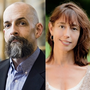 Authors Neal Stephenson & Nicole Galland at The Interval on Wednesday, June 14